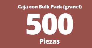 500 caja bulk pack