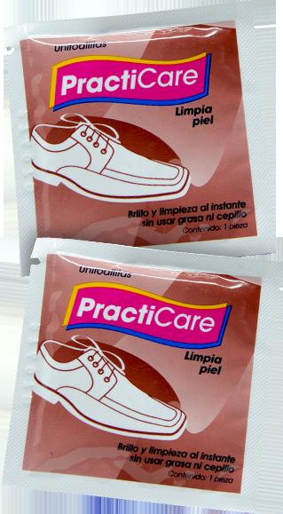 Toallita para Limpieza de calzado y artículos de piel
