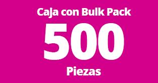 caja con bulk 500